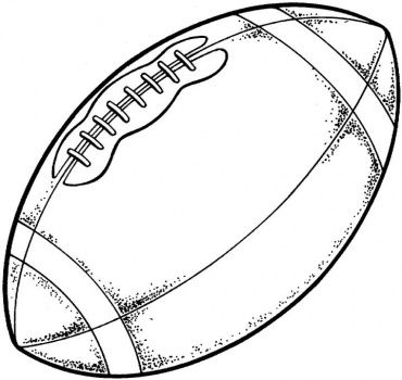 Football Football Coloring Pages Sports Coloring Pages Free