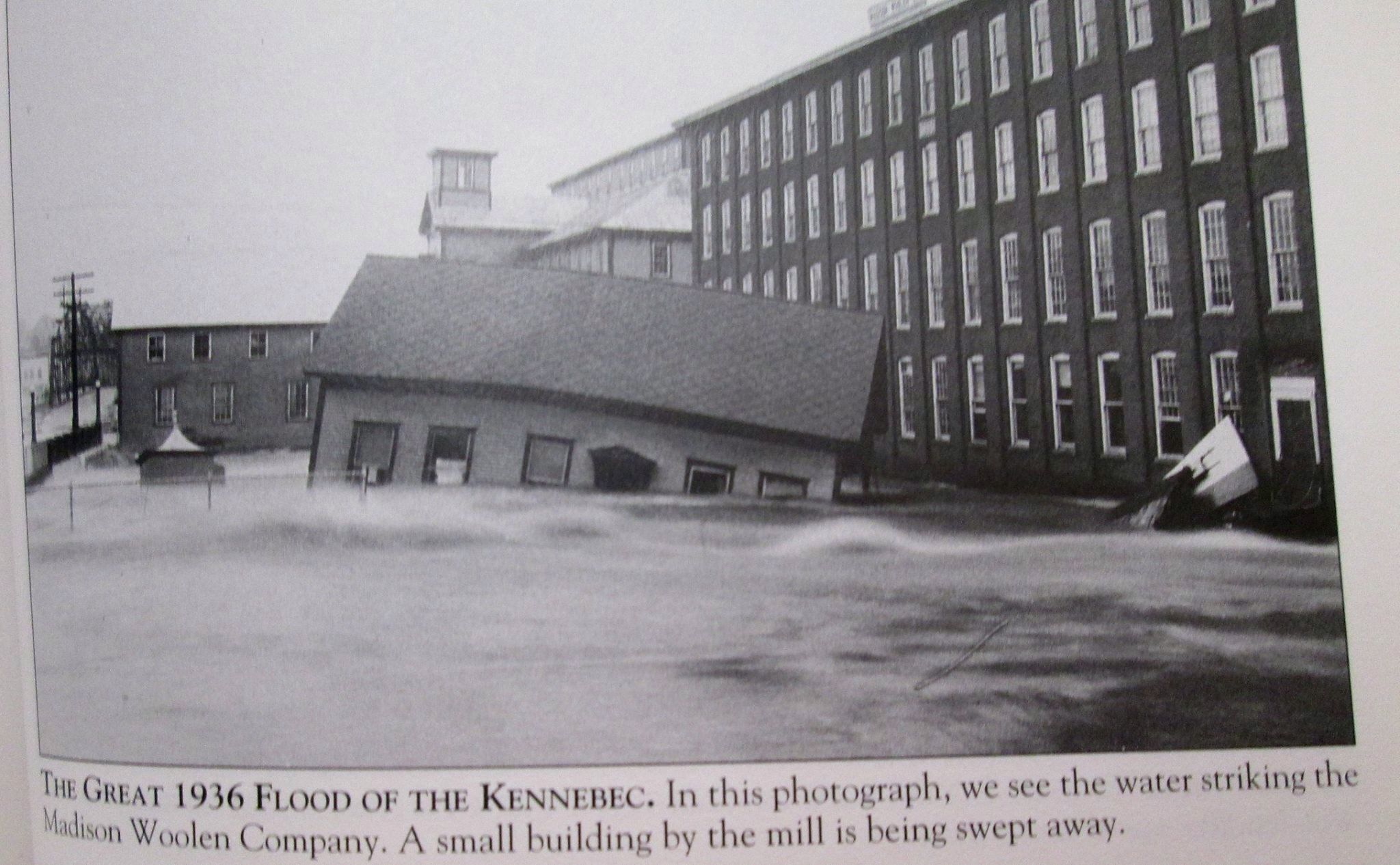 Madison Maine Kennebec River Flood Of 1936
