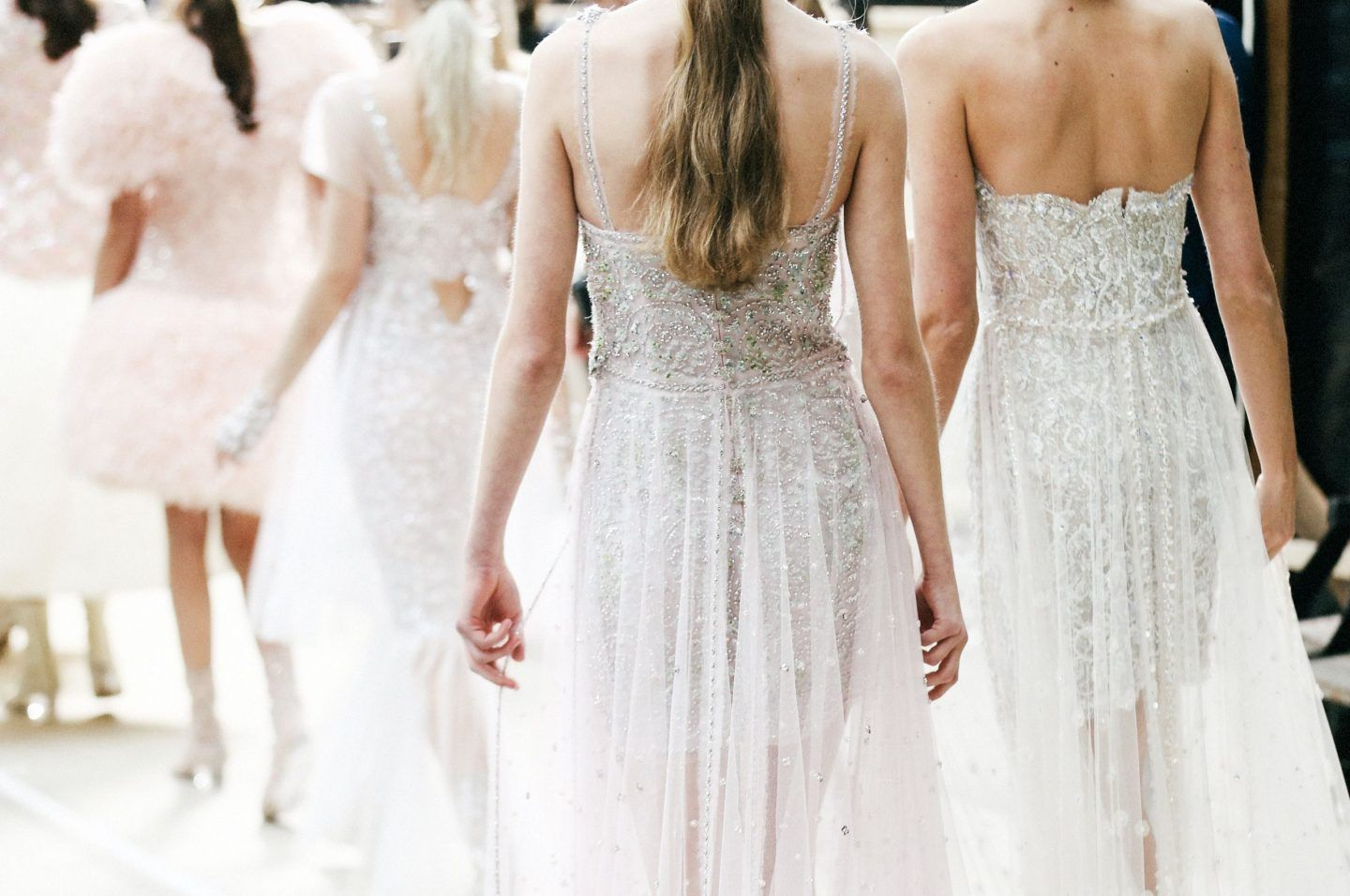 Chanel springsummer haute couture the white files gowns