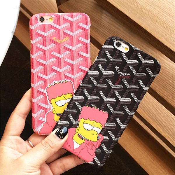 new product ab6bd 840b4 Retro Bart goYard iphone case | Accessories | Goyard iphone case ...