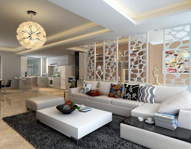 salon contemporain mobilier de style
