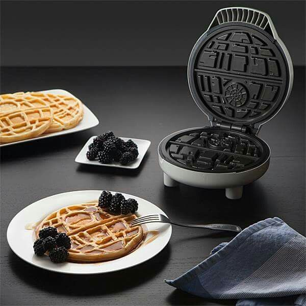 New Star Wars Death Star waffle maker- sexycoolvibes