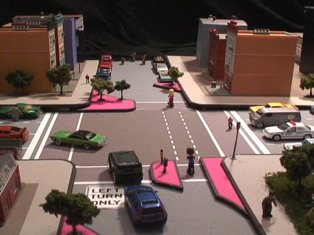 Traffic Calming Animation: Diverter   Amara   Ending ...