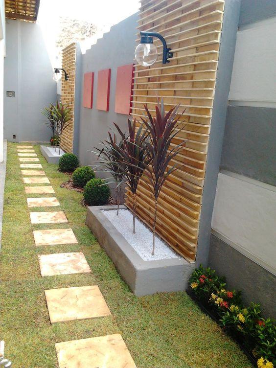 Modelos De Jardins Residenciais Pequenos E Simples Jardins