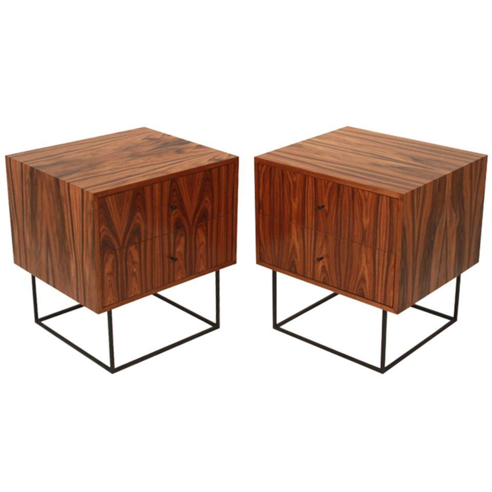 Buy The Quadrar Night Stand by Thomas Hayes Studio - Night Stands - Tables - Furniture - Dering Hall
