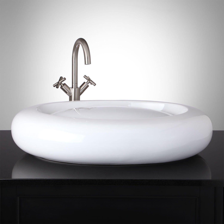 Borrelly Oval Infinity Vessel Sink Sink Vessel Sink Vessel Sink Bathroom