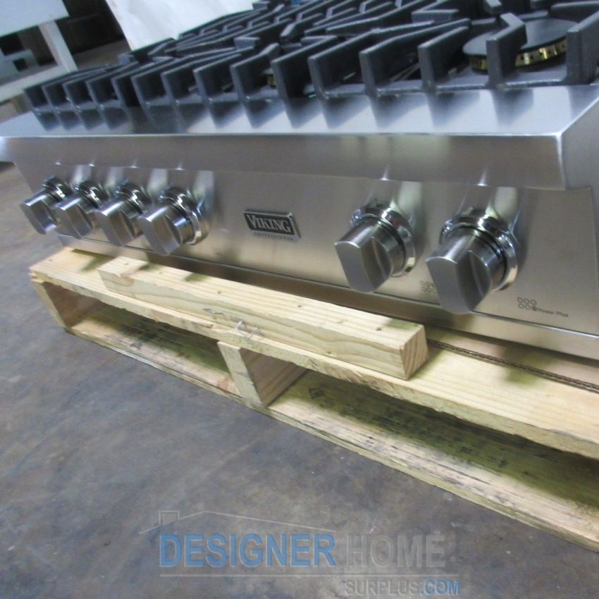 Viking Professional Custom Series Rangetop VGRT5366BSS Detail Page ...