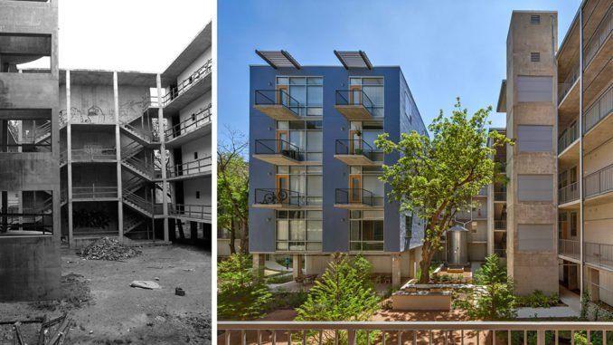 1221 Broadway Lofts In San Antonio By Kudela Weinheimer Lake Flato Landscape Design Green Architecture
