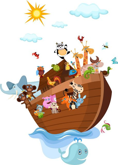 Current image inside free printable pictures of noah's ark