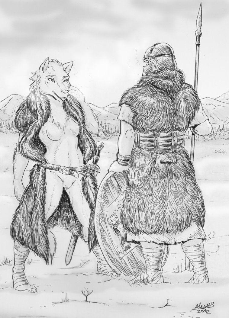 Werewolves by Shabazik on DeviantArt Werewolf Art, Werewolves