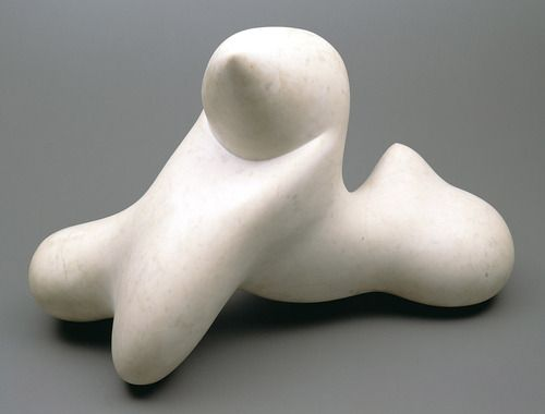 Hans Jean Arp Strasbourg 1886 Basel 1966 Lion Of The Cyclades Seated 1957 White Marble 50 8 X Sophie Taeuber Arp Skulpturen