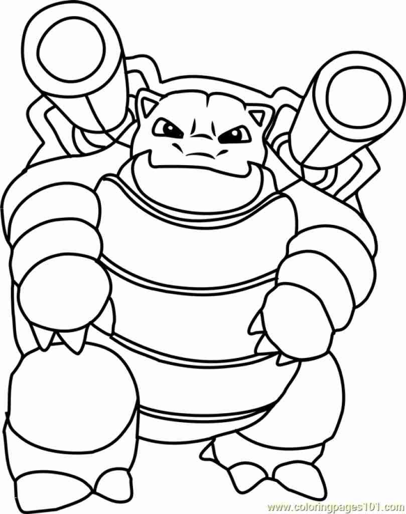Squirtle Pokemon Coloring Page - youngandtae.com  Pokemon