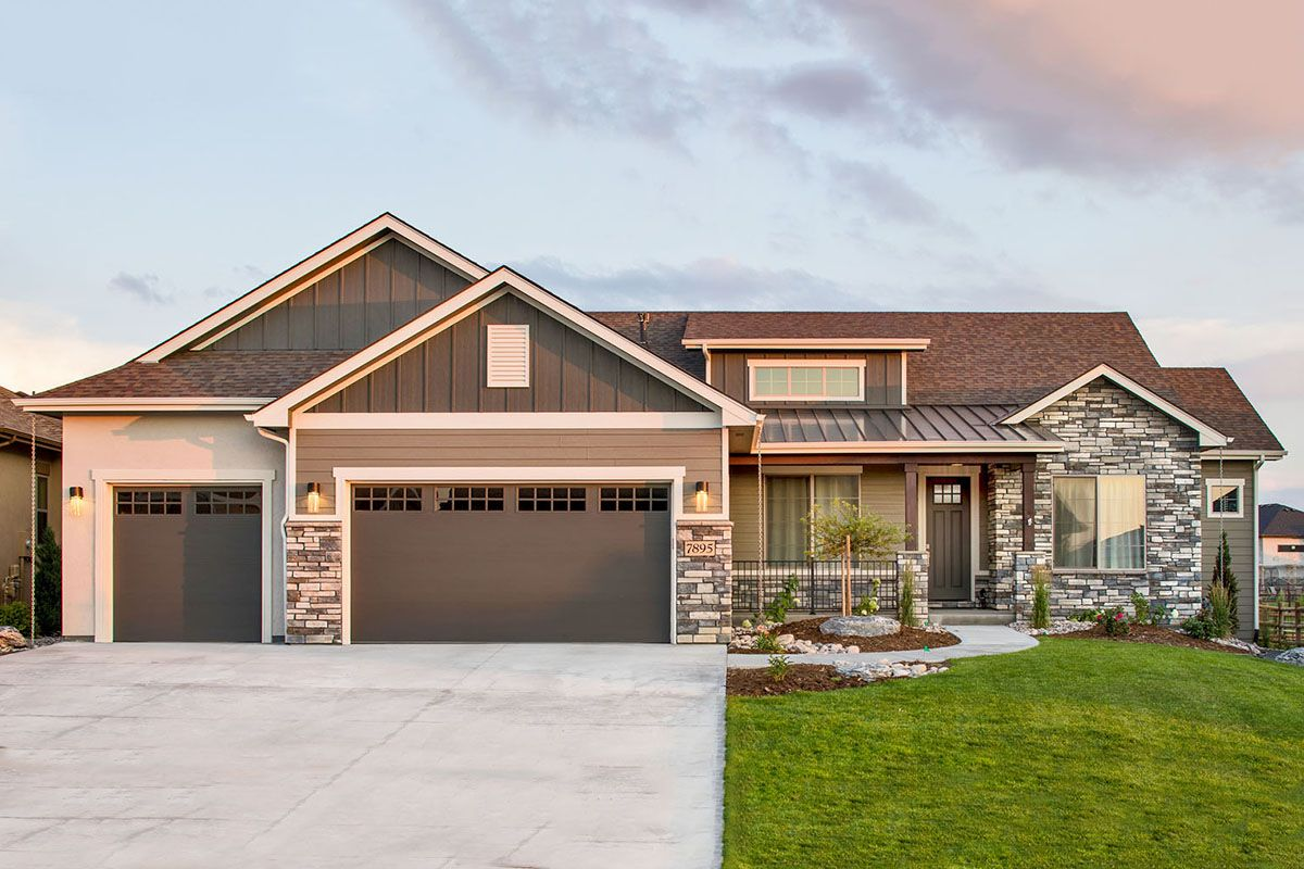 Plan 95069rw Mountain Craftsman Home With Optional