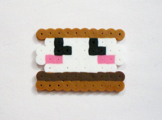 Kawaii Food Perler Beads Perler Bead Designs Bugelperlen