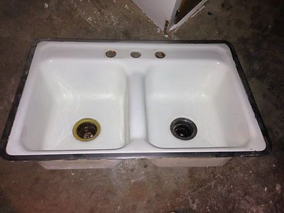 Kitchen Sink American Standard 1950 s Vintage Antic Good Condition ...