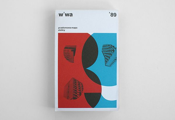 WARSAW `89 MAP on Behance