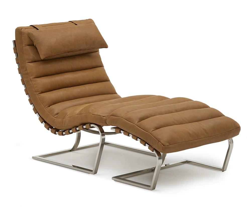Halston Leather Chair Leather chair, Chair, Upcycled