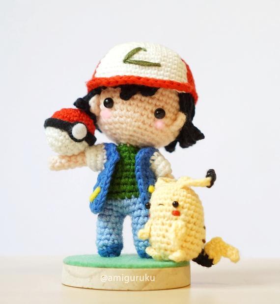 Amigurumi Pattern: Pokémon Pikachu - Tarturumies | 620x570