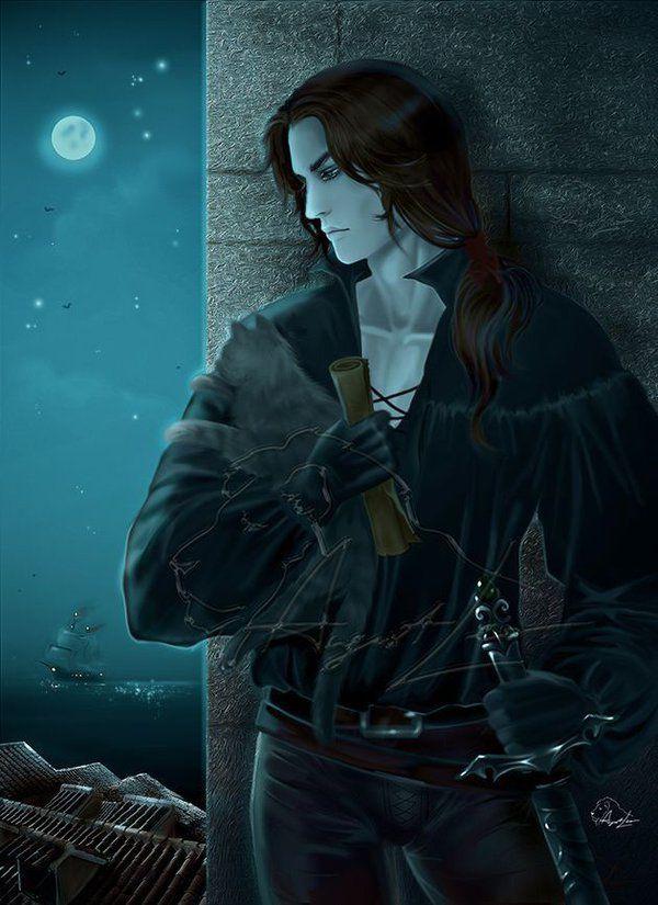 Fantasy Art Lonely Warrior