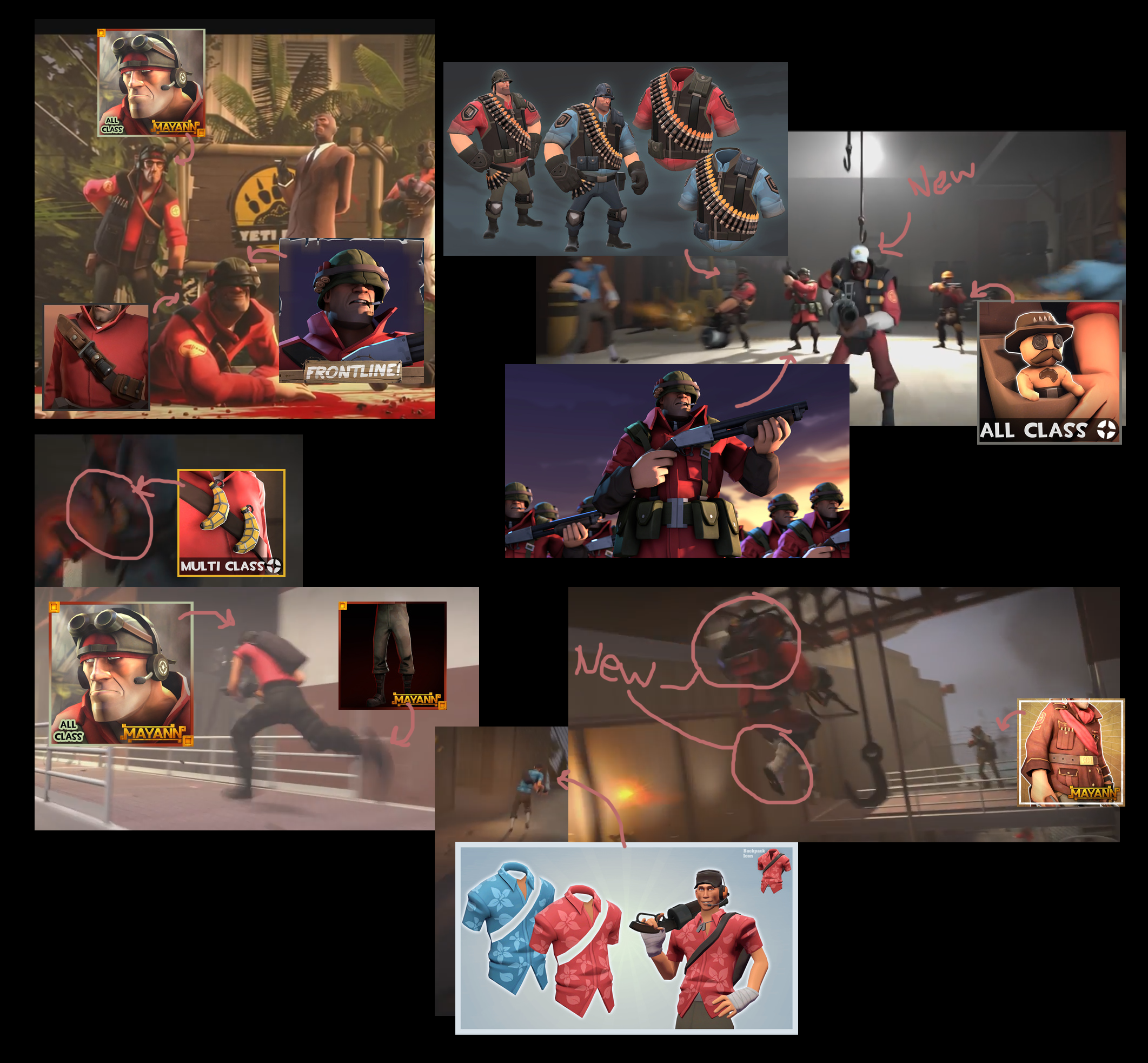 Tf2 soldier cosmetics quotes - Cosmetics I Found In The New Video Games Teamfortress2 Steam Tf2