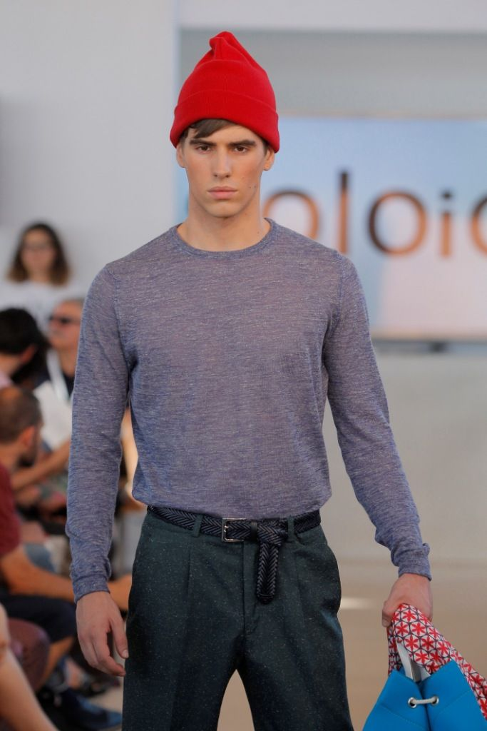 SOLOiO SS 15 COLLECTION: JACQUES COSTEAU featuring in MFSHOWMEN MADRID www.soloio.com
