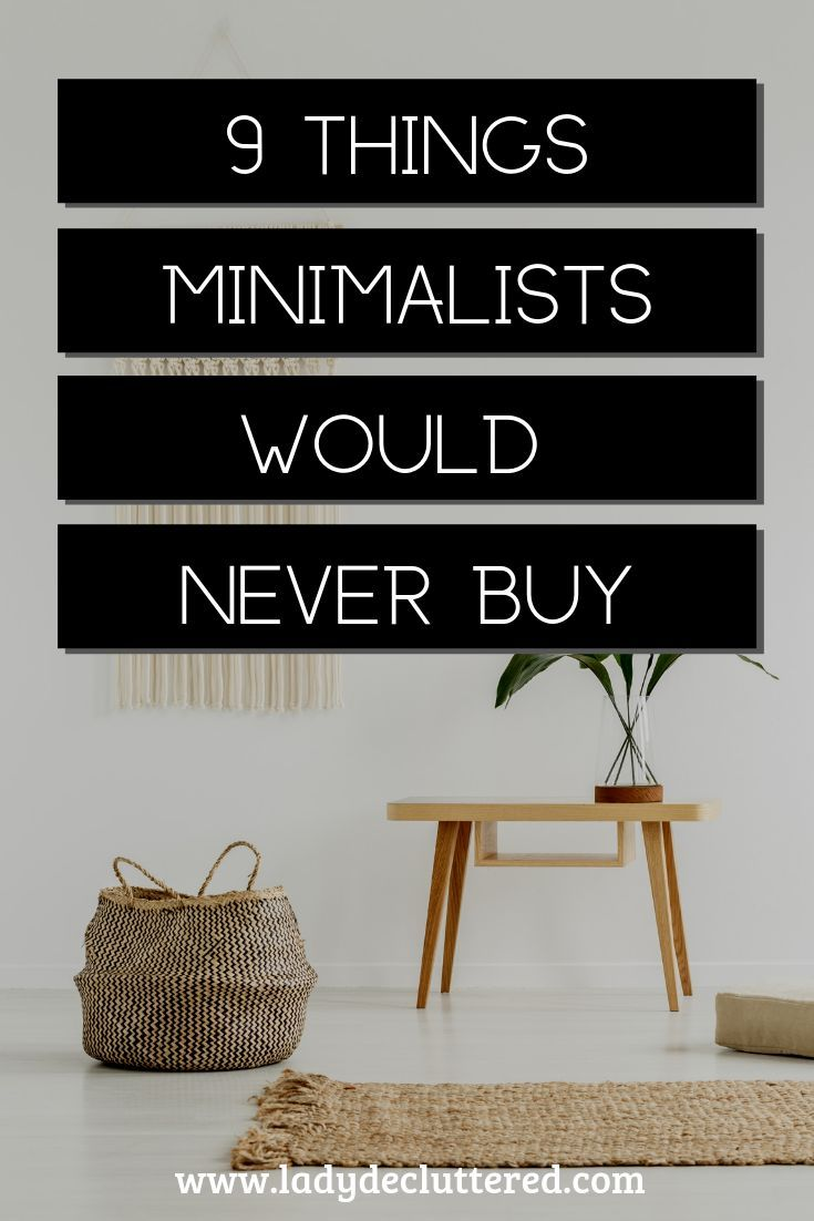 Your desire to want to be more minimalist has to outweigh the need to buy more items. The benefits that come from living a simpler, decluttered, minimalist life are too good to ignore. #ladydecluttered#minimalism#howtobeaminimalist#frualtips