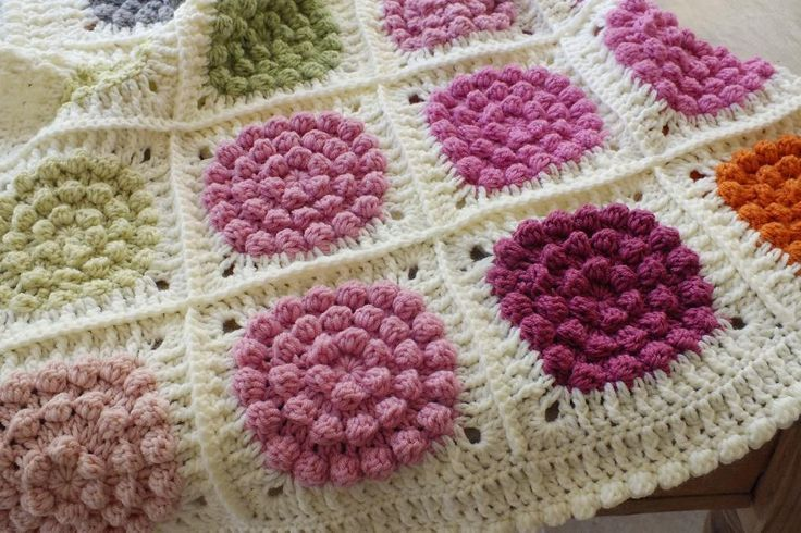 Textured Crochet Stitches Inspiration And How To Crochet Stitches