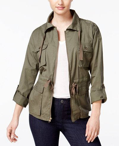 Utility jackets on the rise on Pinterest.
