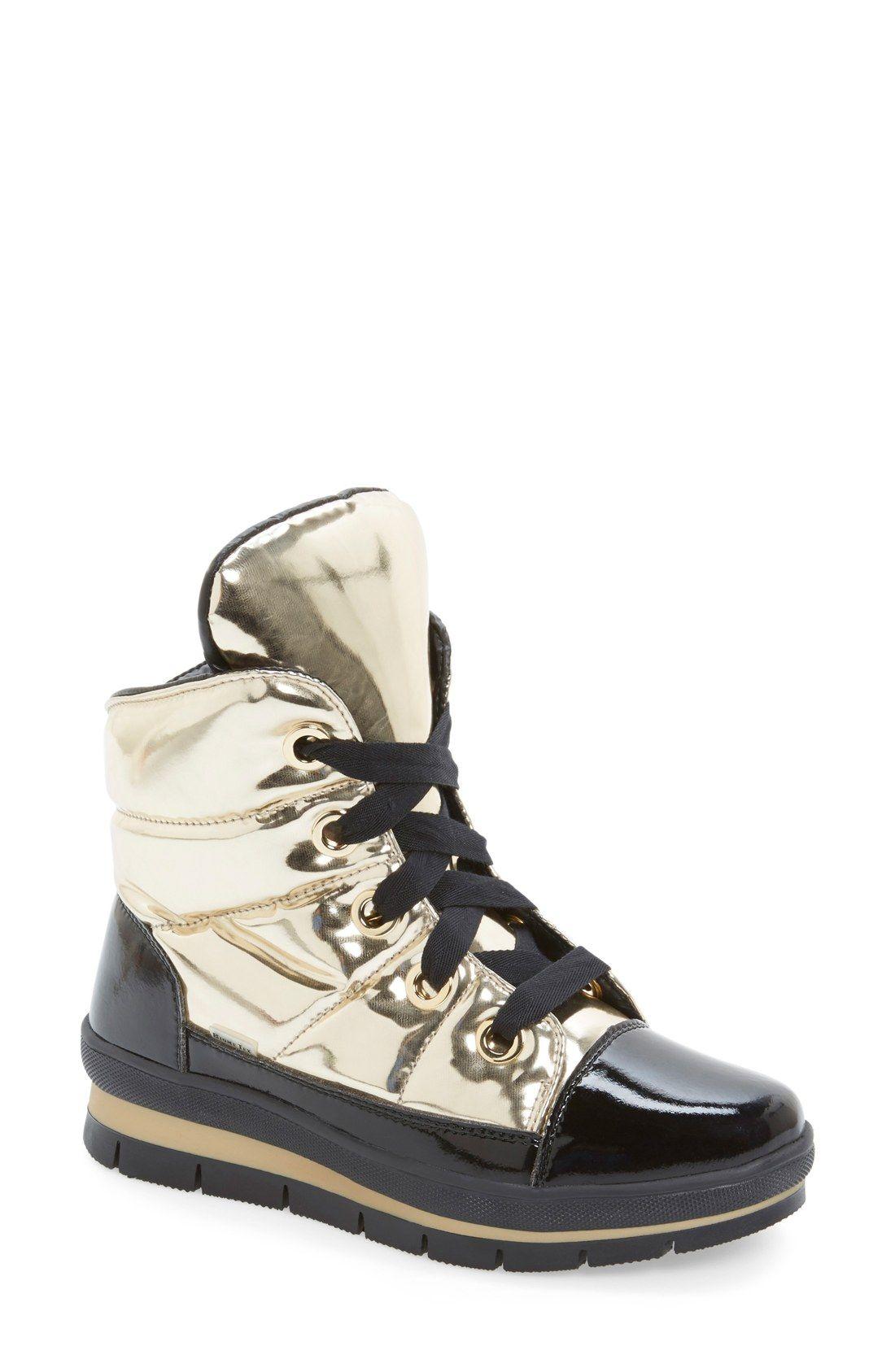 JOG DOG Snowdon Waterproof Quilted Sneaker Boot (Women