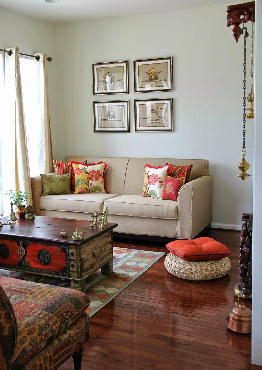 Photo of How to Decorate Small Living Room in Indian Style