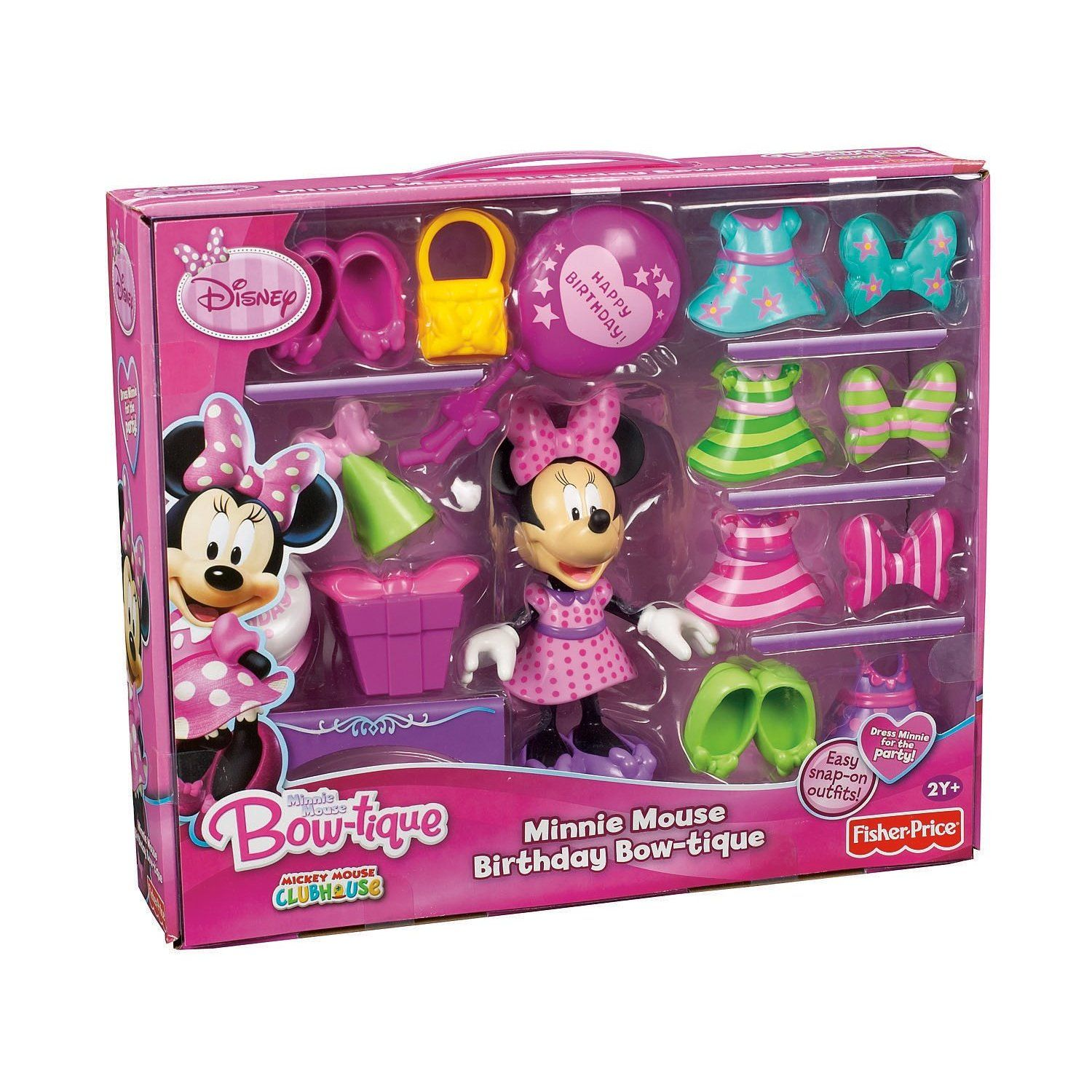 FisherPrice Disney's Birthday Bowtique Minnie Mouse