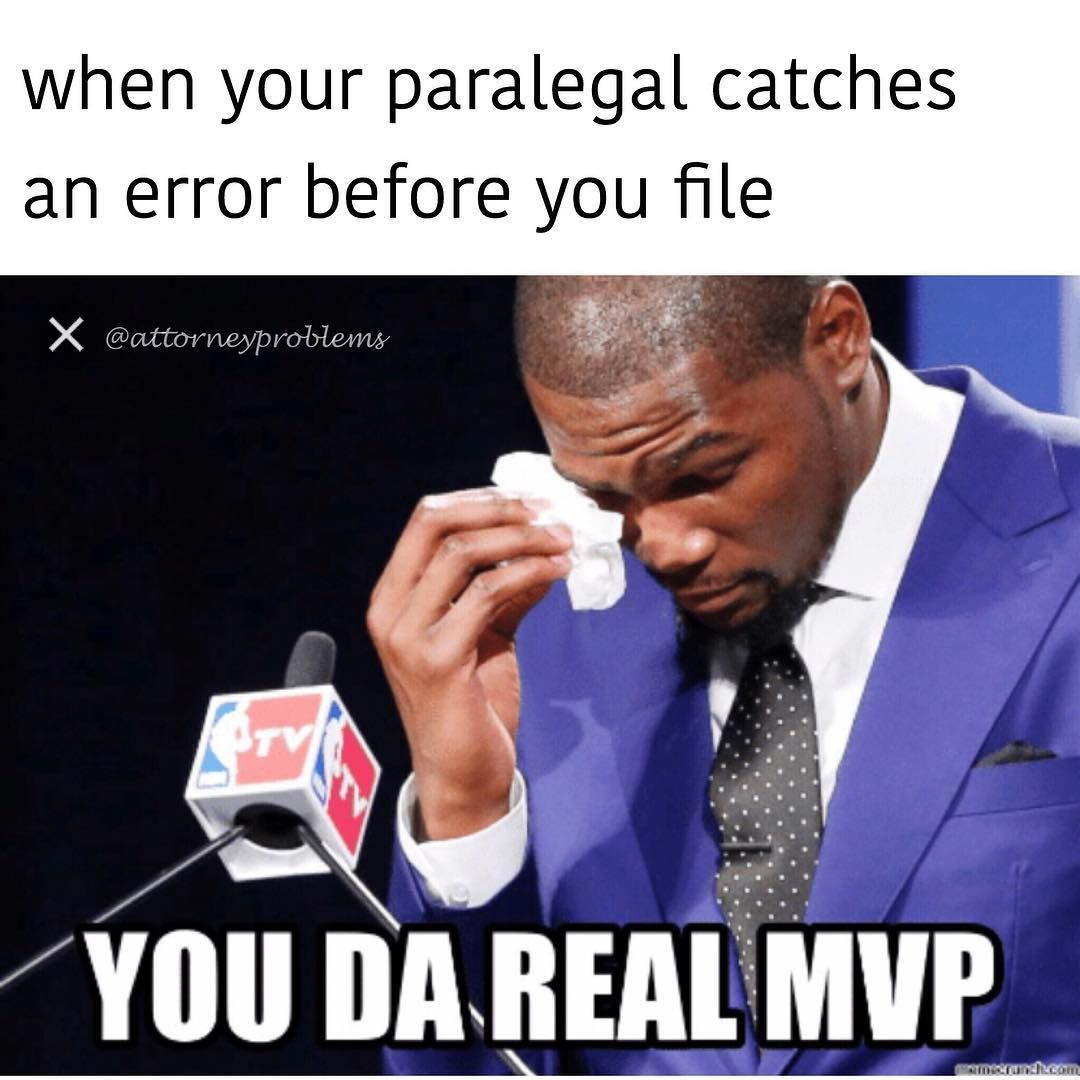 Truth  #MVP #paralegals #attorneyproblems | Legal Humor