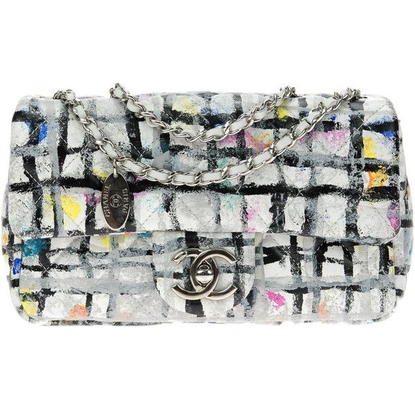 Pre-owned Chanel Limited Edition Hand Painted Calfskin Leather... ( 2 5d52b6fece804