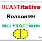 Quantitative Reasoning with Fractions | Math Activities