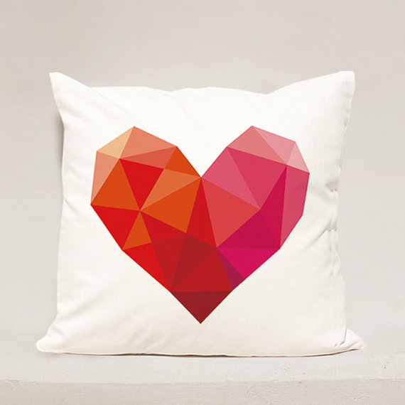 Heart pillow Cover  Heart Geometric Pillow Case  Love Pillowcase Valentine Day Pillow Case & Heart pillow Cover  Heart Geometric Pillow Case  Love Pillowcase ... pillowsntoast.com