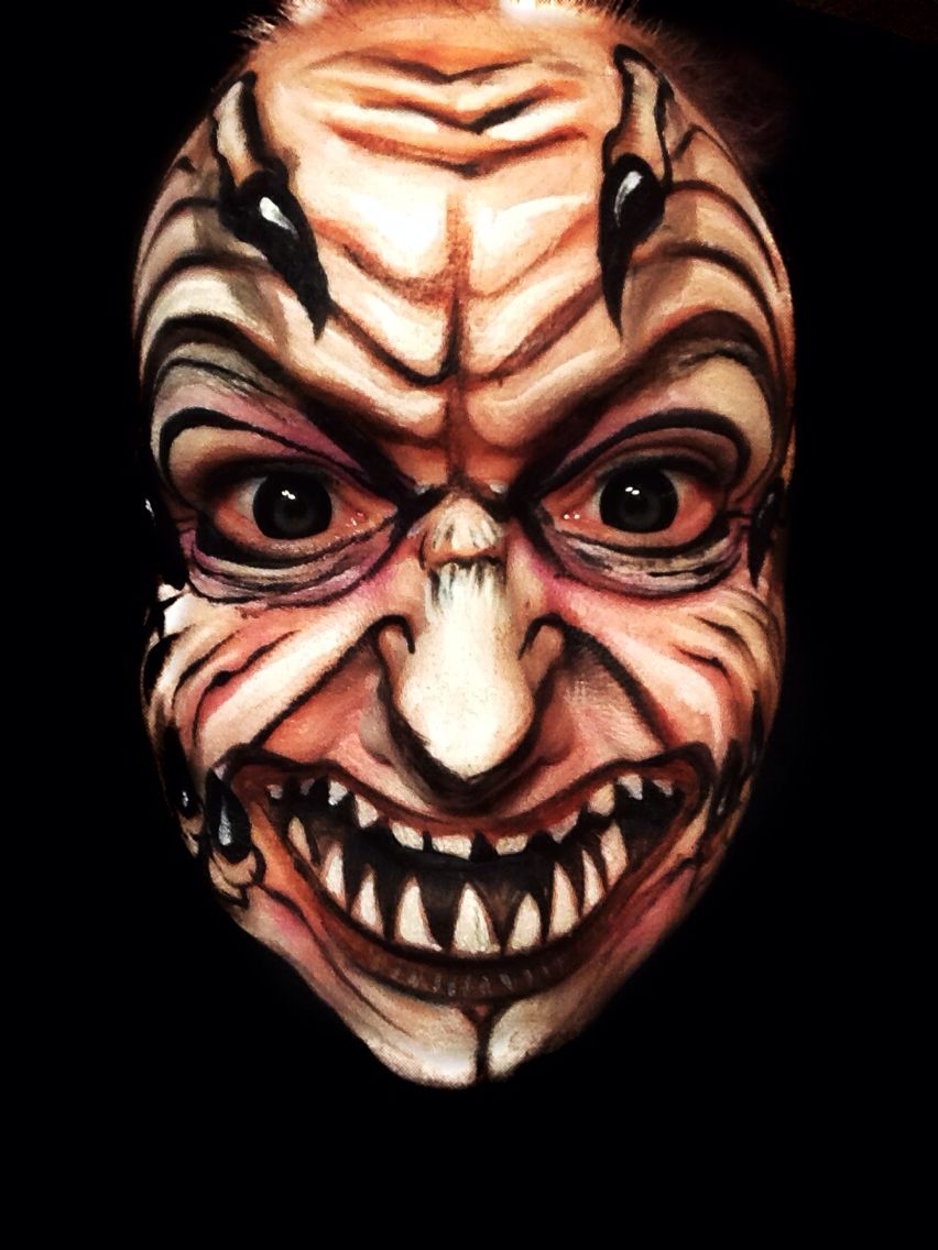 Jeepers Creepers | Face & bodypainting | Pinterest | Jeepers ...