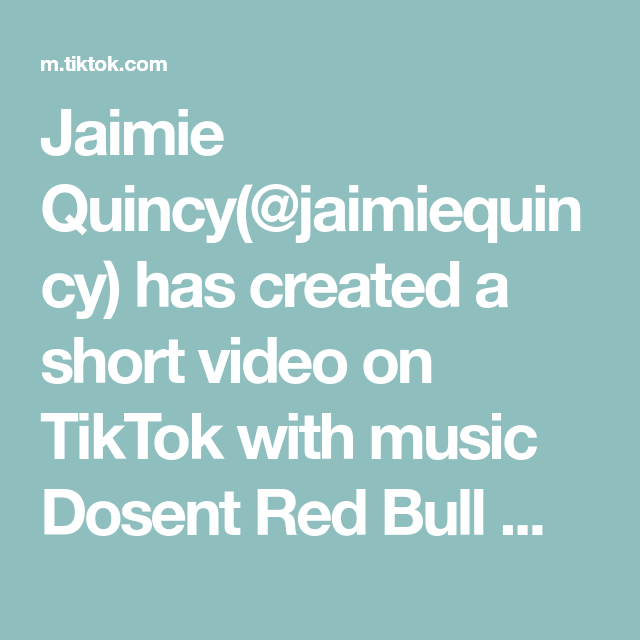 Jaimie Quincy Jaimiequincy Has Created A Short Video On Tiktok With Music Dosent Red Bull Make You Crash Yes Man Crazy Ex Girlfriends Washing Clothes Yes Man
