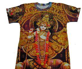 474c0543 Hindu Gods Goddesses T-shirts Yoga T- Shirt Krishna Ganesh T-shirts ...