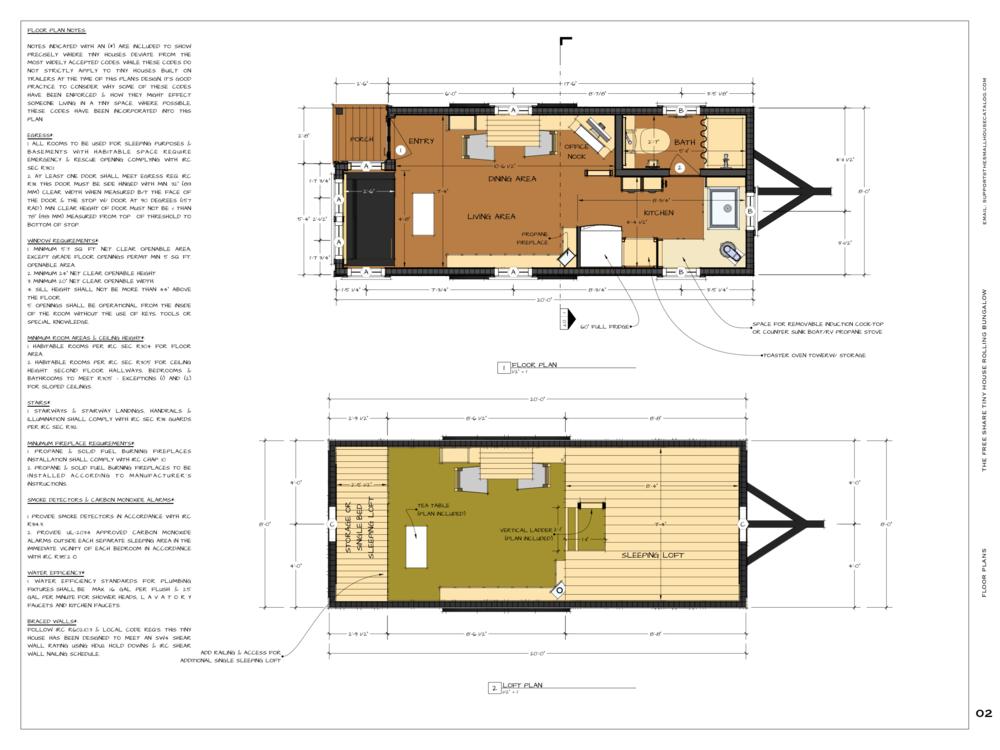 No 1 Tiny House Plan Free Pdf Plan Download Tiny