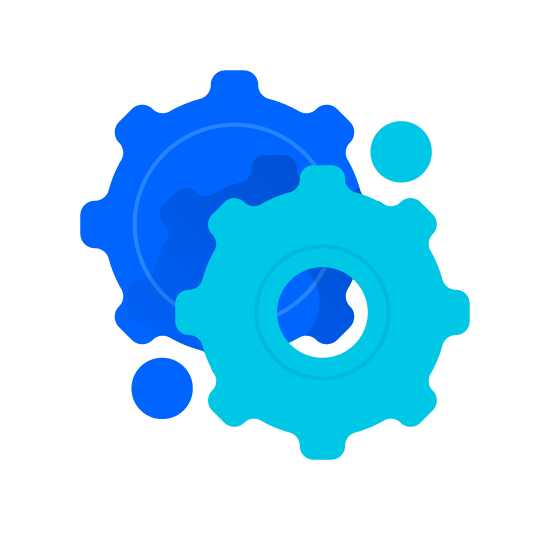 Gears Icon Cost Control Automation Change Management