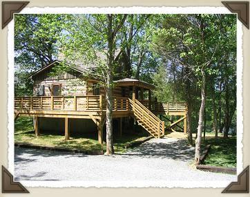 Shenandoah River Cabins,Luray VA, Siesta River Cabin Rental