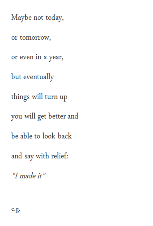 Maybe Not Today Or Tomorrow Or Even In A Year But Eventually