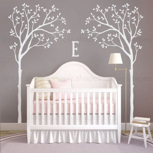 Tree Decal, Bed Canopy Tree, Baby Nursery Designs, Tree ...