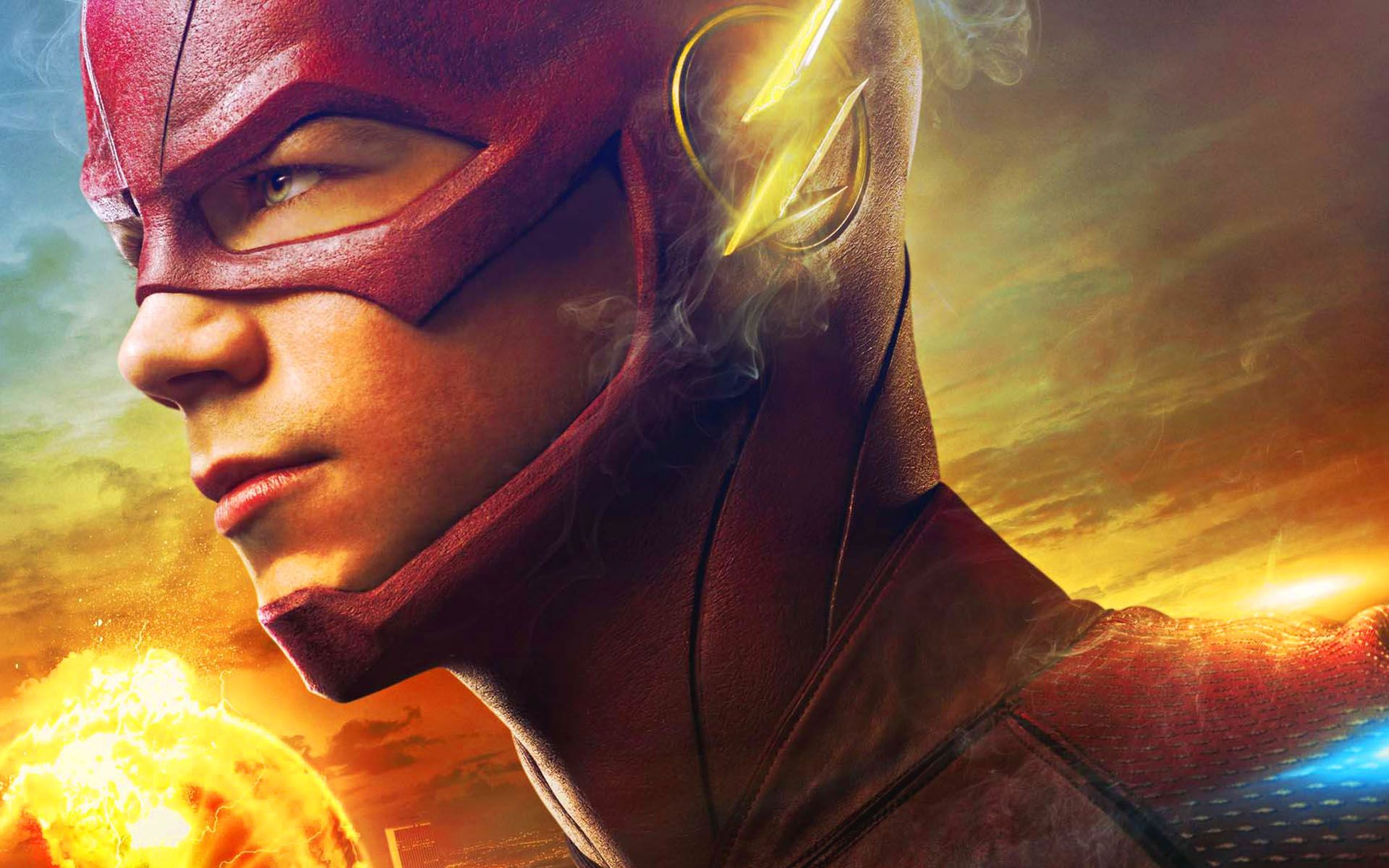 The Flash CW Desktop Wallpaper Movie Wallpaper