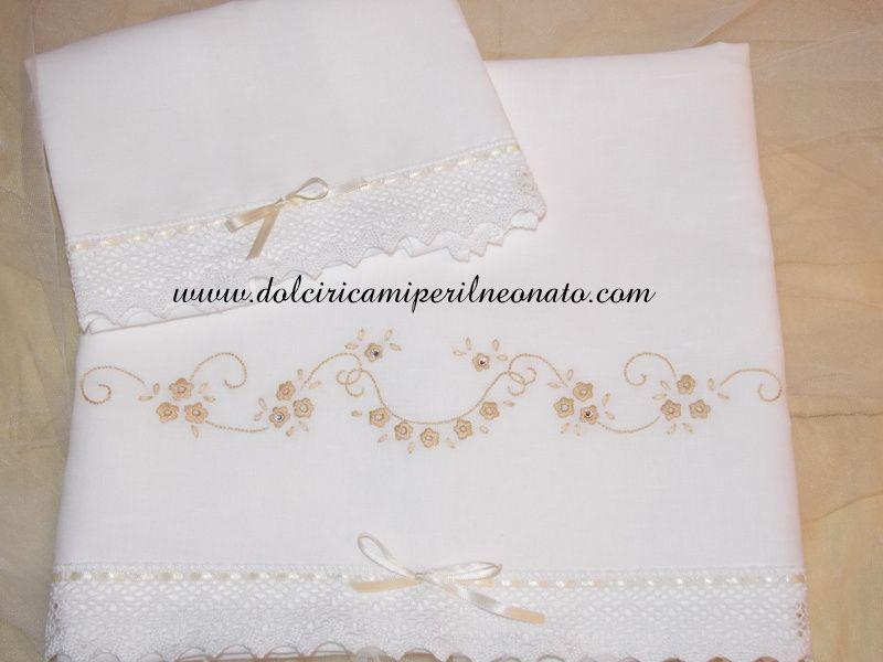 Risultato Immagini Per Asciugamani Di Lino Ricamati A Mano