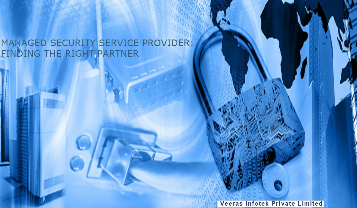 Right protect your business asset with veeras Infotek  a security service provider.
