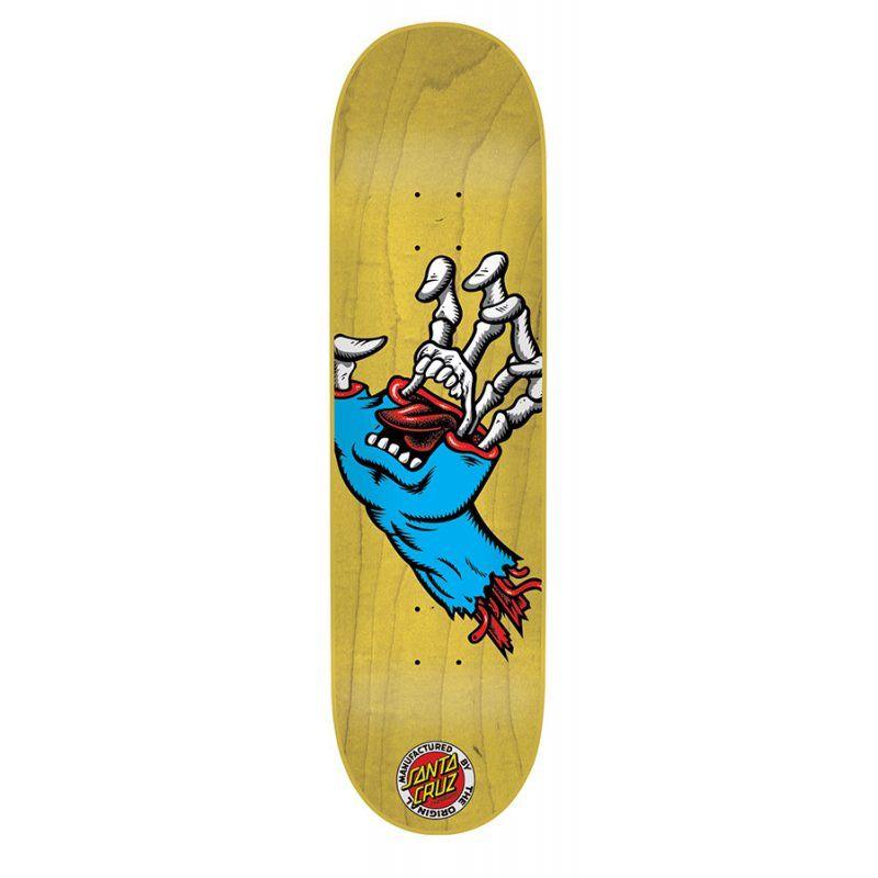 Tabla Santa Cruz Hybrid Hand Mini 7 4 Comprar Online Tablas De Skate Diseno Del Monopatin Creature Skateboards
