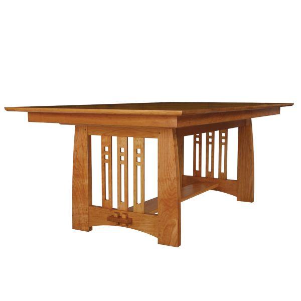Schatz Dining Room: Stickley Mackintosh Inspired Dining Table