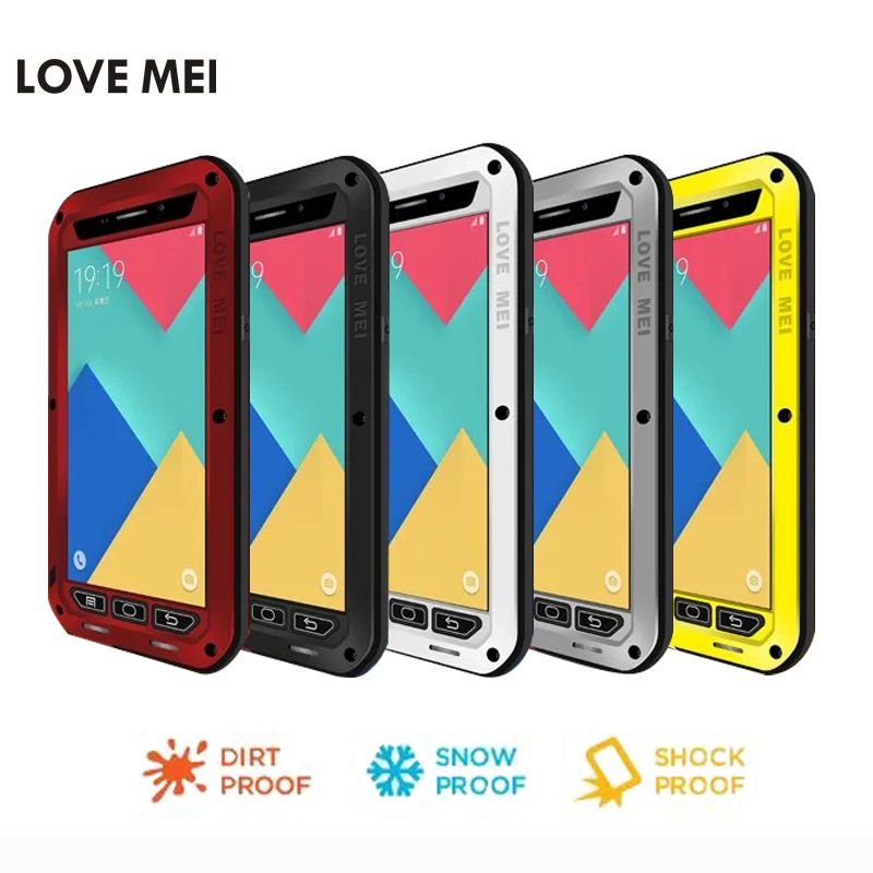size 40 070f6 7a214 For Samsung Galaxy A5 2015 cover Metal A3 2016 2017 phone Case ...
