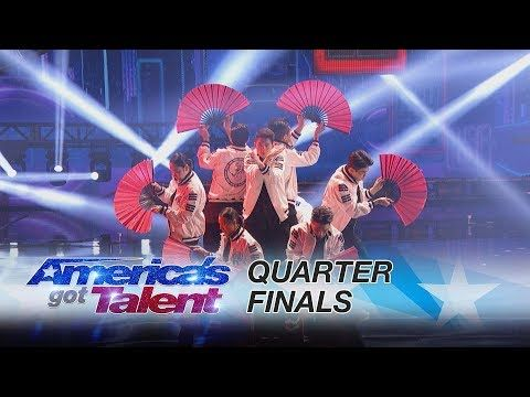 Nice Just Jerk Korean Dance Group Delivers Jaw Dropping Performance America S Got Talent 2017